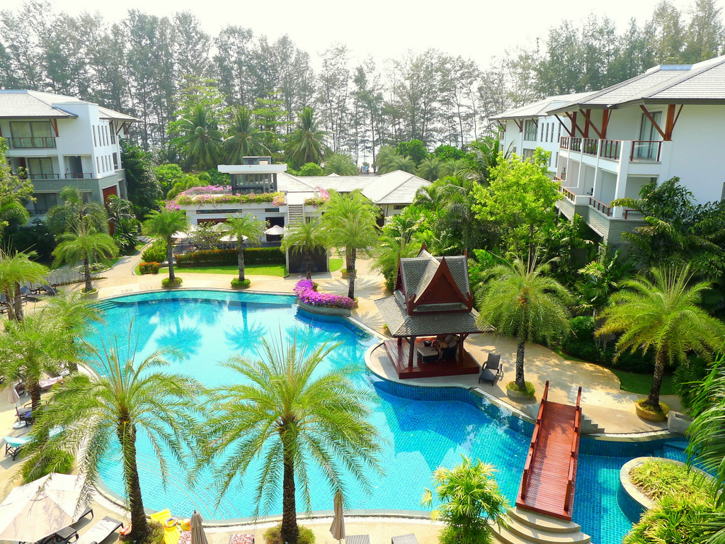 3 bedroom penthouse 50 meters to the beach for rent in Nai Thon Phuket