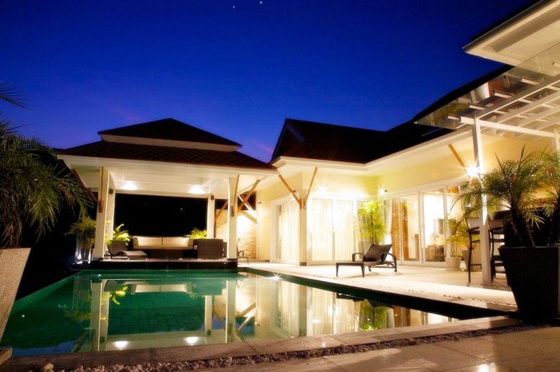 Sea view 5 bedroom Pool villa for rent in Chalong Phuket