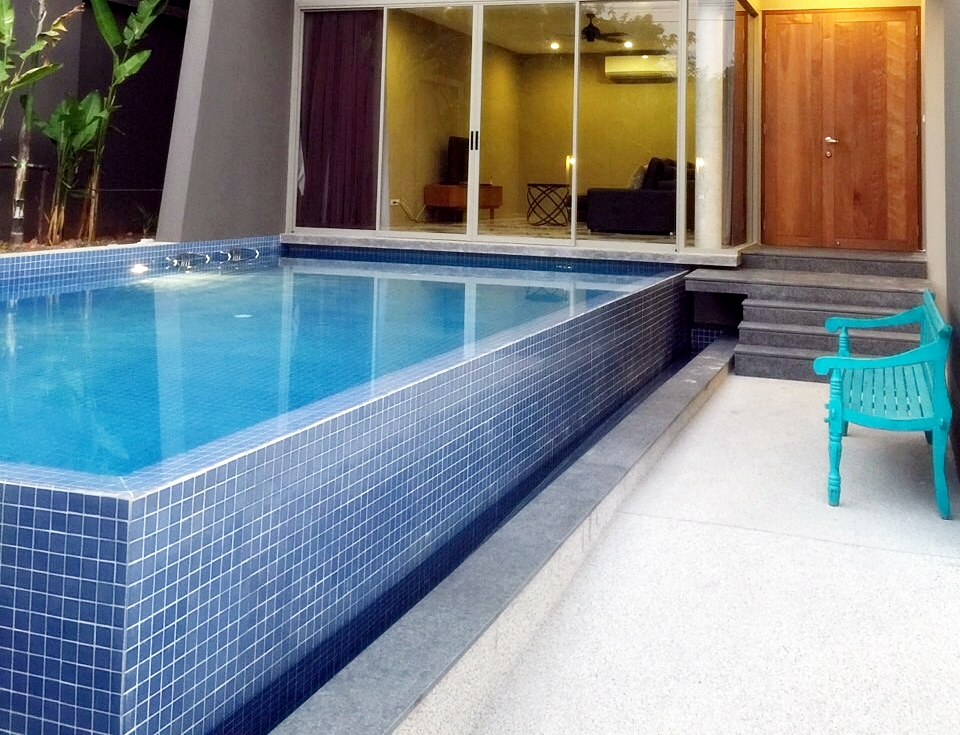 Modern 3 bedroom pool villa for rent in Chalong Phuket