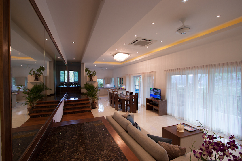 Golf View Penthouse with 4 bedrooms for rent in Kathu Phuket
