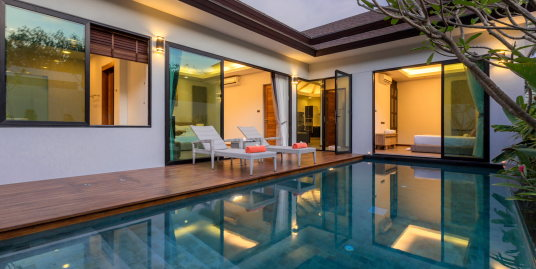 Pool Villa with 2 bedrooms in a Serene environment at Nai Yang Beach
