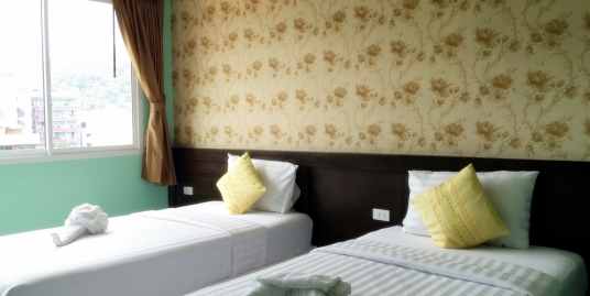 8 room guest house business for sale in Patong