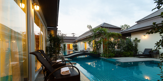 1 bedroom shared pool villa for rent in Thalang Phuket