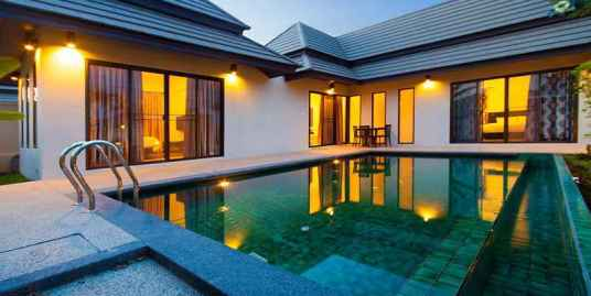 Pool villa with 2 bedrooms for sale in Thalang Phuket