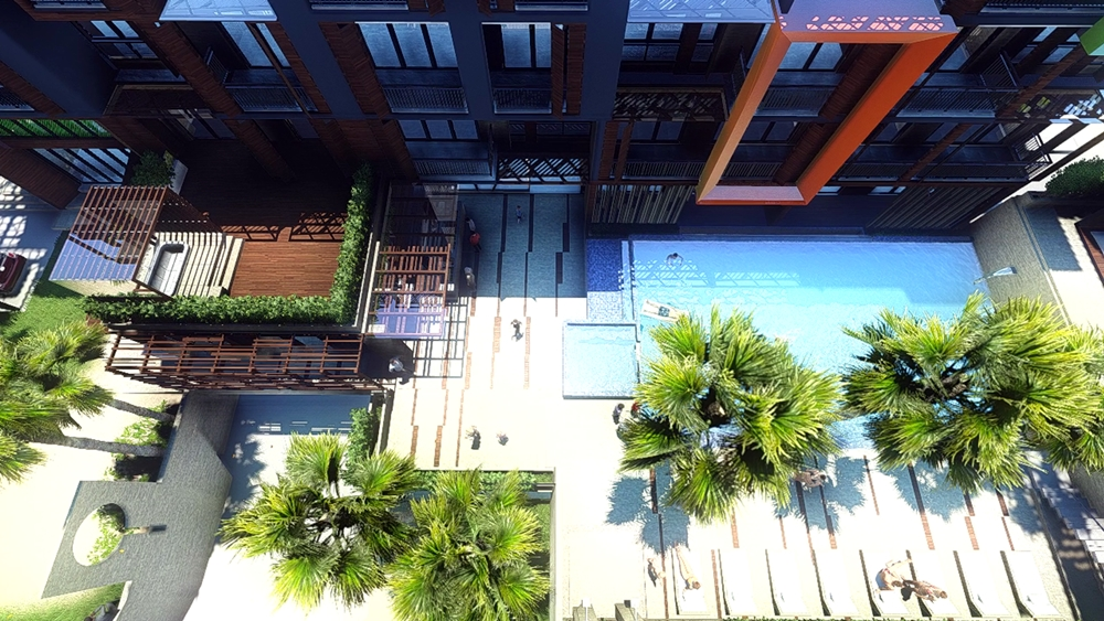 Modern contemporary condo for sale 5 mins walk to Nai Harn Beach