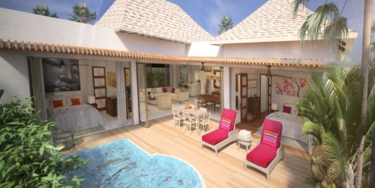 Tropical Pool Villa for sale in Nai Harn Beach