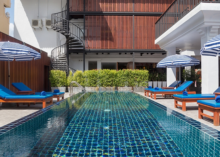 Modern hotel 50 meters walk to the Beach Hotel for sale in Phuket