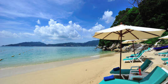 Beach front resort in Phuket