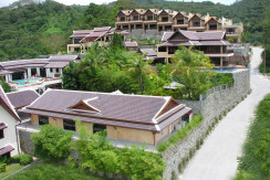 Sea view & Thai Style Pool Villa for sale in Patong