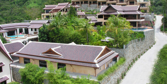Sea view villa for sale in Patong