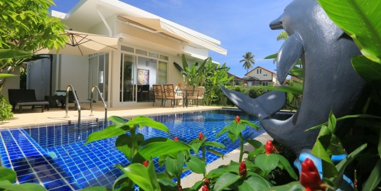 Pool villa 2-3 bedroom Western and Thai styles in Rawai