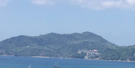 Sea View 3 Rai Land for sale in Patong