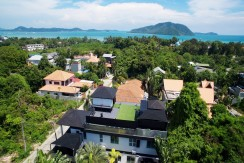 The stylish 7 Bedroom Pool Villa for rent in Rawai