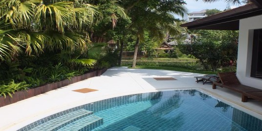 A Luxurious 5 bedroom Villa just a short walk to Surin Beach