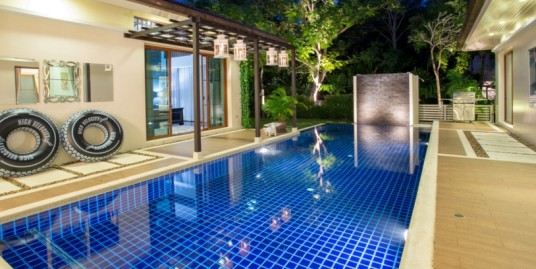 Modern Thai 3 Bedroom Pool Villa for rent in Kok-Keaw