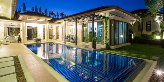 Modern Thai Style Resort 3 Bedroom Pool Villa in Kok-Keaw