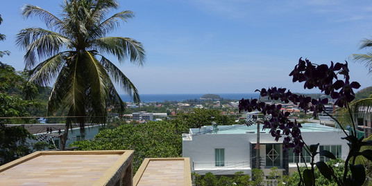 Sea View 3 Bedroom Pool Villa for sale in Kata Beach