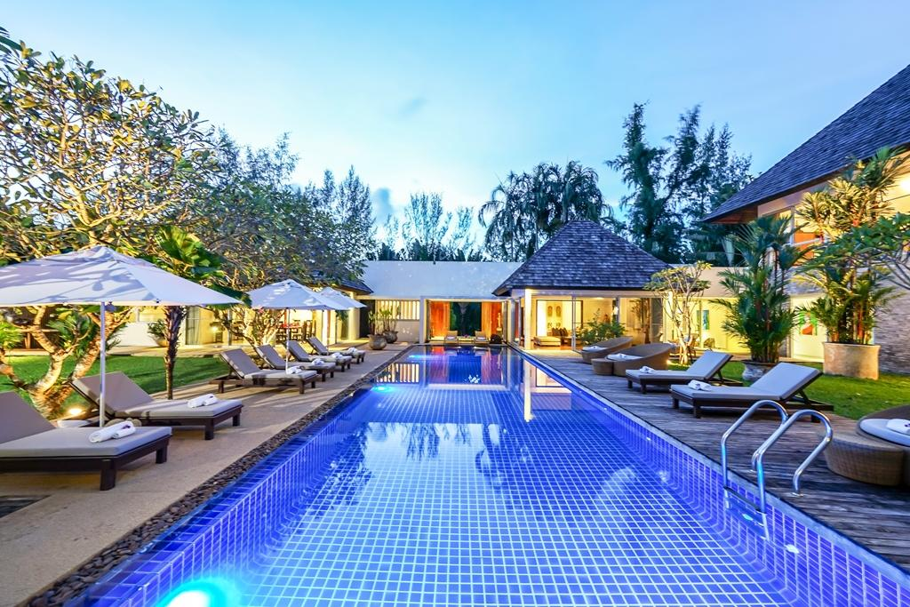 Luxury 5 Bedroom Private Pool Villa for rent near Layan Beach