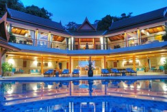 The Elegant Sea View of 6 bedroom Pool villa on the Top of Surin Beach Hillside