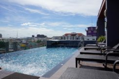 Roof top pool hotel for lease in Patong