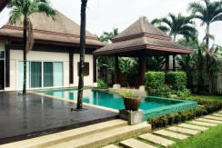 Balinese Style Pool Villa 3 Bedroom for Sale in Koh Keaw