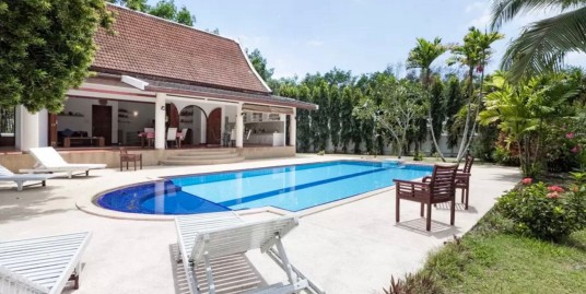 Pool Villa with 3 Bedroom for Holiday and Long term rent
