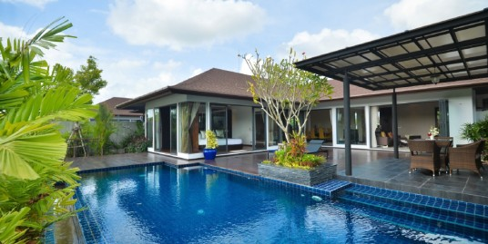 Lake View Private Pool Villa 3 Bedrooms