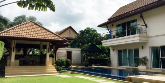 The Magnificent 5 bedroom Pool Villa for sale near International school