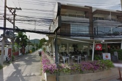 Commercial Building with 4 Studio Apartment in Nai Harn Business center area