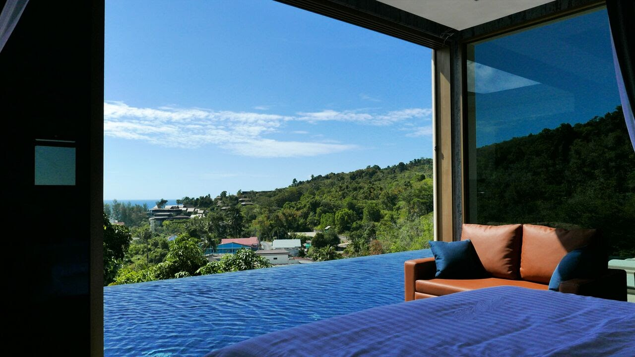 3 Bedroom Sea View Pool Villa in Nai Thon