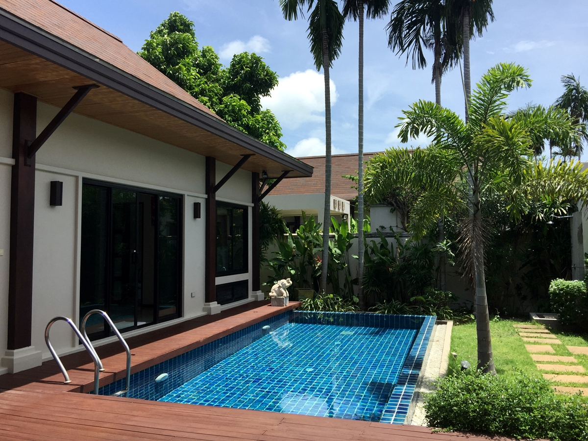 2 Bedroom Private Pool Villa for rent 5 min to Rawai and Nai Harn Beach