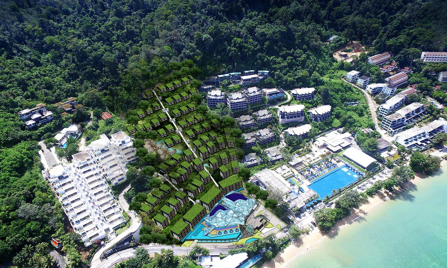 Presale Prices start from 3.3 Miilion The Ocean Front Apartment 60 meters from the Kamala Beach