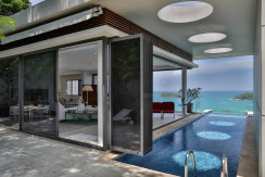 Fabulous sea view apartment nestled high above Kata Beach