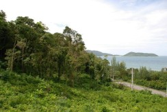 Sea View Land 36 Rai for sale near Patong and Kamala Beach