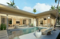 The Unique Tropical Design of 2-3 Bedroom Pool Villa in Kamala