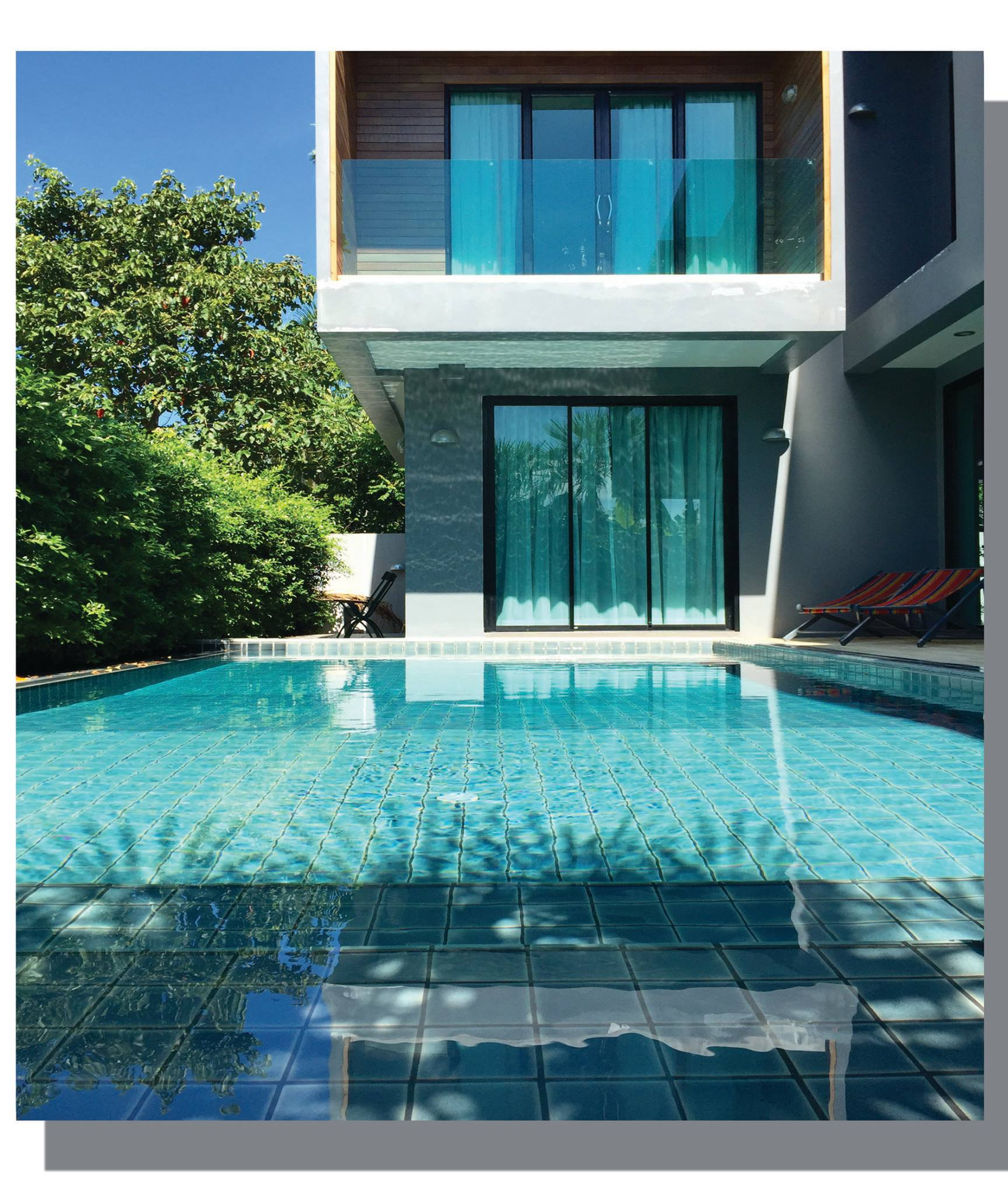 Style Pool Villa 3 Bedroom For Rent Near Laguna Layan