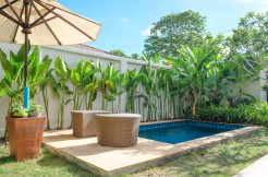 2 bedroom beautiful pool villa in quiet area close to Chalong