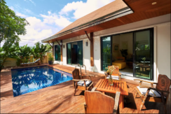 Balinese Pool Villa with 2 Bedrooms for sale 7.8 MTHB in Rawai-Naiharn Beach