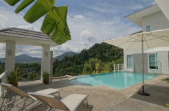 Golf View 4 Bedroom Private Pool Villa and near International School Price 13.6 MTHB