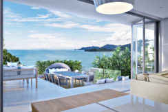 High quality Sea View Apartment 2-3 Bedroom for Sale in Patong