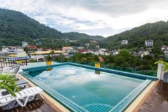 42 room hotel with roof top pool in Patong